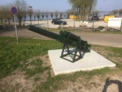 Kanon geplaats aan de Biesboschweg