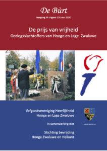 De prijs van de Vrijheid – Oorlogsslachtoffers van Hooge en Lage Zwaluwe